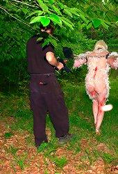 Animal play humiliation