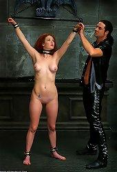 Redhead Slave BDSM Training