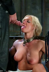 Helpless in various bondage positions
